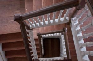 Bacon's Castle Stair Hall
