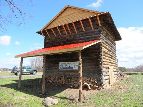 Bray Tobacco Barn Restoration - Preservation Virginia