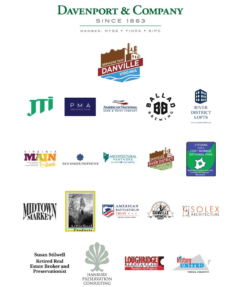 2018 Virginia Preservation Conference Sponsors