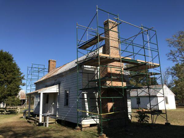 slave quarter restoration